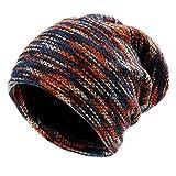 Vbiger Caliente Invierno Sombrero de Punto Gorrita Tejida para Hombres y Mujeres (Multicolor)