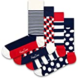 Happy Socks Stripe Gift Box Calcetines (Pack de 4) para Mujer