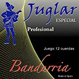 Lot de 12 cordes pour bandurria JB-10 professionnel