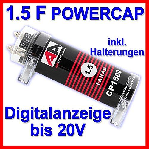 AirTone Audio CP 1500 - 1,5F Powercap Kondensator Low-esr-cap