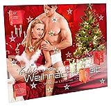 Erotischer Advenrskalender - Sex Adventskalender - Verfüherische Weihnachtszeit - Adventskalender aus Pappe, 30 x 25 cm groß.