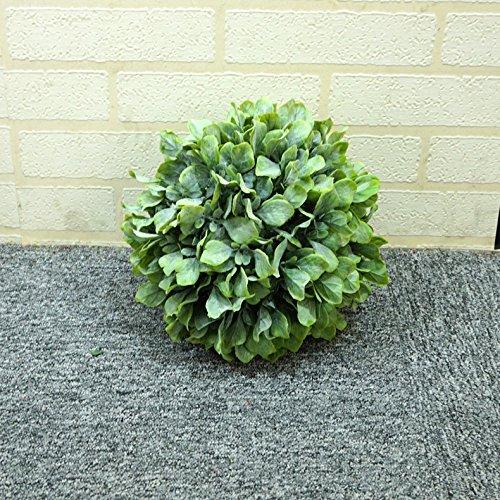 NOHOPE Impianti di emulazione di erba in plastica a sfera sfera Bouquet soffitto decorato stile pastorale di emulazione di stile negozio di fiori Home Decor