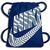 Nike Unisex Heritage–Sacco da ginnastica, Unisex, Heritage, Blue Jay/White, 43 x 33 cm