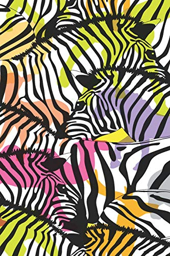 A Colourful Dazzle of Zebras for Safari Holidays & Travel To Keep Track of Big Game & Animal Sightings Journal Your Thoughts in Wild Africa Write, Drawer & Doodle