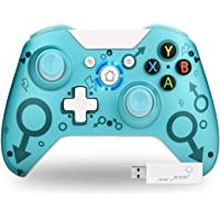 TechKen Wireless Controller for Xbox One, 2.4GHZ Game Controller Gamepad Compatible with Xbox One S/X PC & (Green)