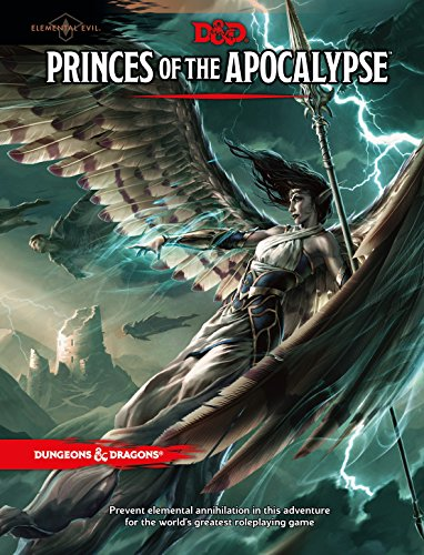 Princes of the Apocalypse (D&D Accessory) (Apocalypse Games)