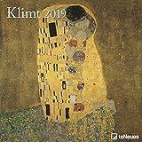 Klimt 2019 - Kunstkalender2019, Wandkalender, Broschürenkalender, Jugendstil - 30 x 30 cm