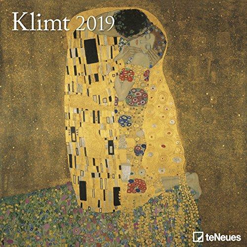 Klimt Broschurkalender - Kalender 2019 - teNeues-Verlag - Wandkalender mit Platz für Eintragungen - 30 cm x 30 cm (offen 30 cm x 60 cm) (Jugendstil-planer)