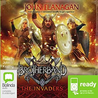 The Invaders Brotherband Book 2 Audio Download Amazon border=