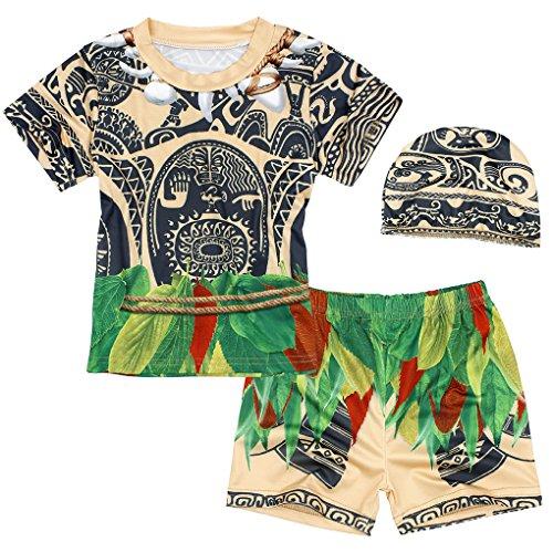 Kreative Kleinkind Jungen Kostüm - AmzBarley Baby Jungen Bademode Kleinkinder-Badebekleidung kurzärmliges