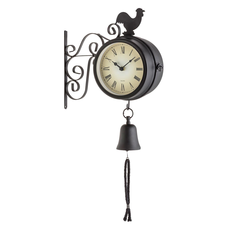 Blumfeldt Early Bird - Horloge murale design pendule de gare rétro ...