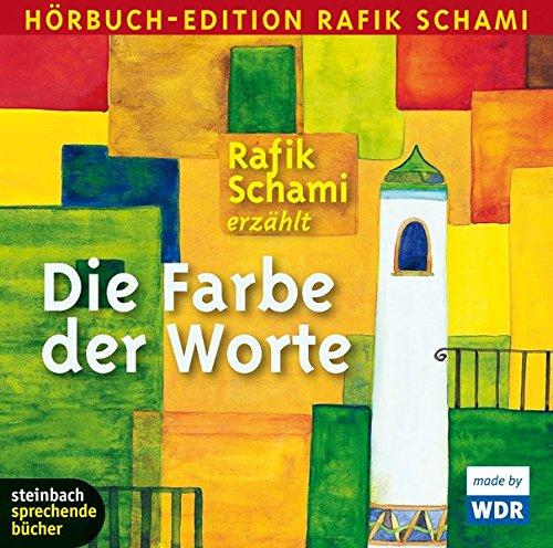 Preisvergleich Produktbild Die Farbe der Worte: 34 Kalendergeschichten, Hörbuch-Edition Rafik Schami. Autorenlesung