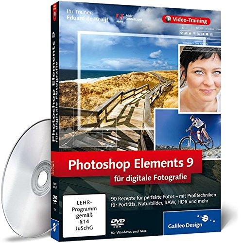 Photoshop Elements 9 für digitale Fotografie (Video-Training)