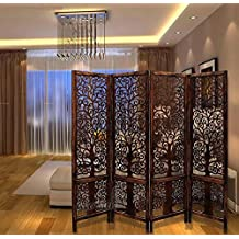 Aarsun Wooden Room Divider Panels & Partition Screens - Tree Design