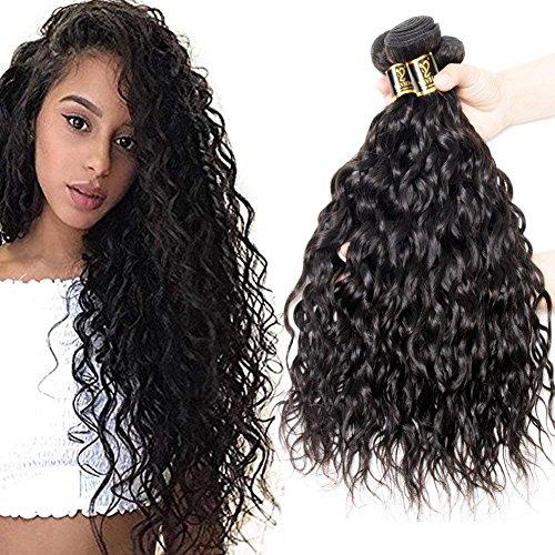 Yavida extension di capelli ricci naturali 300g capelli brasiliani naturali onda d'acqua estensione capelli veri naturale capelli umani veri ricci 12 14 16 pollici