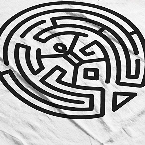 Westworld Maze Black Women's Vest white