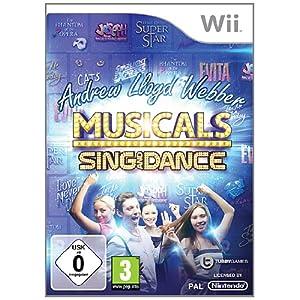 Andrew Lloyd Webber Musicals: Sing & Dance – [Nintendo Wii]