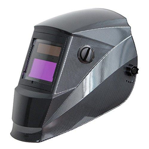 Antra AH6–260–001x solare potenza auto oscurante maschera saldatura con Antfi X60–2larga Shade gamma 4/5–9/9–13con smerigliatura caratteristica extra lenti coperture buone per arco TIG MIG al plasma CSA/ANSI certificato da Colts laboratorio