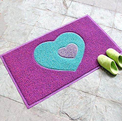 GFYWZ Strofinando il cuscino di pad antiscivolo tappetino zerbino antipolvere , 48 * 68cm , 1