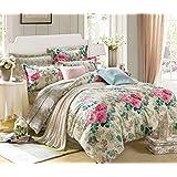 Ahmedabad Cotton Premium Cotton Single Comforter - Multicolour