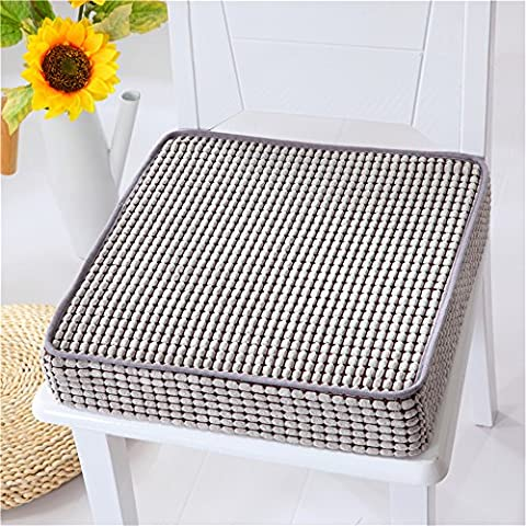 VANCORE 45x45x8cm Memory Foam Seat Cushions Chair Pads for Home/Office, Non-Slip/Soft