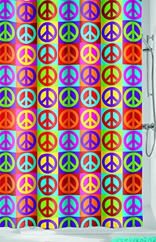 Kleine Wolke paz, cortina de ducha, 180x 200cm, multicolor, multicolor