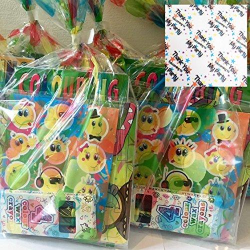 6x Kinder PRE gefüllt Geburtstag Party Favour Taschen