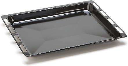 DREHFLEX® - Backblech/Blech / Universalpfanne passend für diverse Herde von Bosch/Siemens / Constructa/Neff - passend für Teile-Nr. 00675876/675876-465 x 375 x 40mm - emailliert