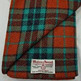 Authentic Harris Tweed Stoff 100% reine Wolle mit Etiketten.. 75 cm x 50 cm –-Nr. aug23 – -- siehe die ganze Palette von Harris Tweed in der fatfrog. aus Großbritannien Online Amazon Shop