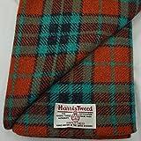Authentic Harris Tweed Stoff 100% reine Wolle mit Etiketten.. 75cm x 50cm –-Nr. aug23–-- siehe die ganze Palette von Harris Tweed in der fatfrog. aus Großbritannien Online Amazon Shop