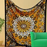 Worldoftextile Mandala Tapestries, Hippy...