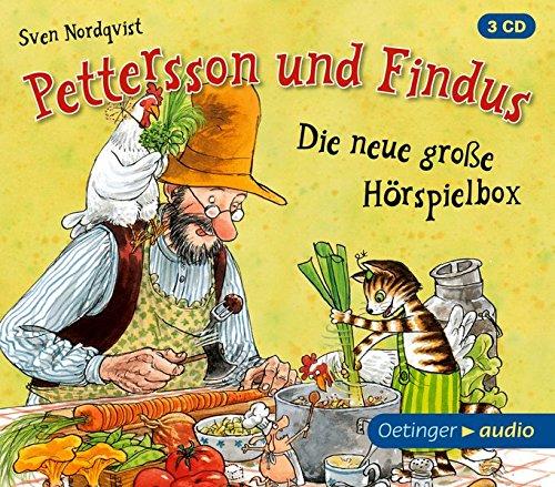 Pettersson und Findus - Die neue große Hörspielbox (3 CD): Hörspielbox, ca. 85 - Bildungs Audio-bücher -