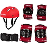 Jonex Protection Kit for Skating, Cycling, Running Red @ Kin Store (Red, Blue)