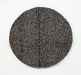 DISCO CRISTALIZADOR DE LANA DE ACERO PREFABRICADO cristalizar, pulir, limpiar (17'/43cm, Azul)