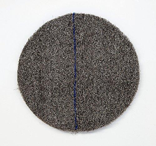 DISCO CRISTALIZADOR DE LANA DE ACERO PREFABRICADO cristalizar, pulir, limpiar (13