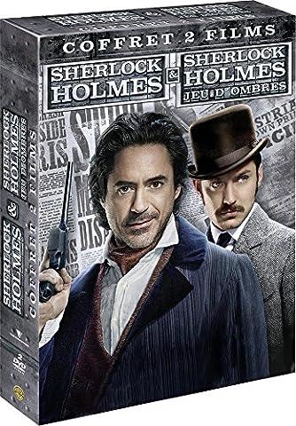 Coffret sherlock holmes 1 et 2 [FR Import] (Sherlock Holmes Films Robert Downey Jr)
