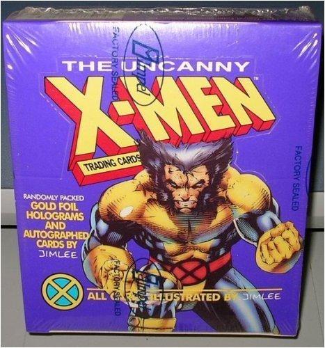 The Uncanny X-Men Trading Karten Box 36Zählen (Xmen Trading Card Game)