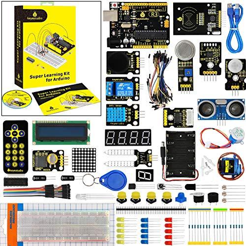 KEYESTUDIO Starter Kit R3 Guías Tutorial Conjunto