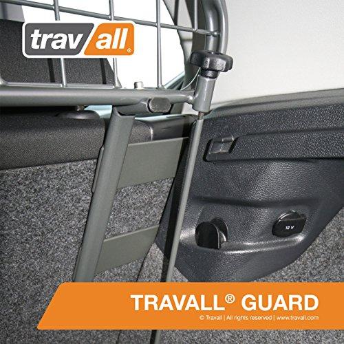 Travall® Guard Hundegitter TDG1355 – Maßgeschneidertes Trenngitter in Original Qualität - 3