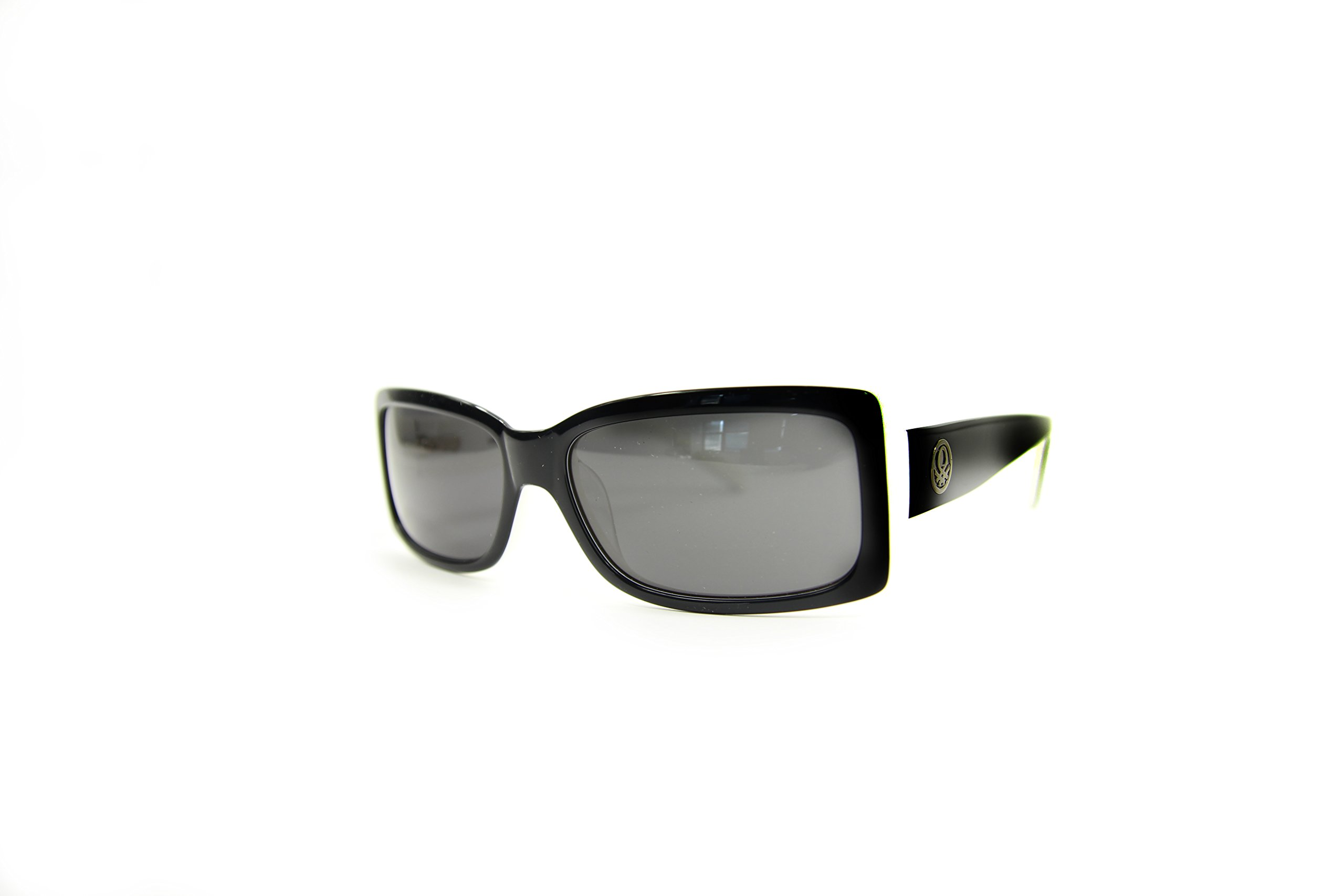 United Colors of Benetton BE72503 Gafas de sol, Black/White, 57 para Mujer
