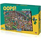 Gibsons Oops Mudstock Jigsaw Puzzle (1000 Pieces)
