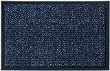 Fußmatte Astra Graphit Blau Meliert in 4 Größen