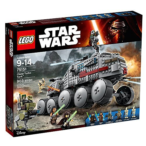 LEGO Star Wars Clone Turbo Tank with Jedis, Battle Droids, and AT-RT | 75151 by LEGO -