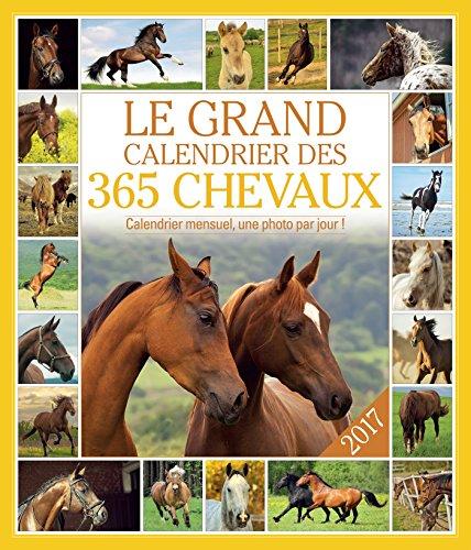 Le grand calendrier des 365 chevaux : Calendrier mensuel, une photo par jour ! por Editions 365