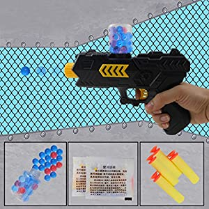 Dairyshop 2-in-1 Water Crystal Gun Paintball Soft Bullet Kids Toy CS Game Children Gift by Dairyshop