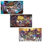 Yugioh Duelist Kingdom Chibi Game Playmat Joey,Yugi,or Kaiba 1 RANDOMLY CHOSEN