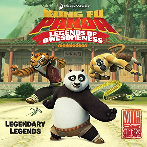 Legendary Legends [With Sticker(s)] (DreamWorks Kung Fu Panda) by Maggie Testa (25-Mar-2014) Paperback