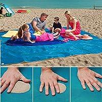 NIGHT-GRING Sand frei Strand Matte Teppich Picknick Decke, - Sand, Schmutz & Staub disapper. - Schnell Trocken, leicht zu reinigen ideal für den Strand, Picknick, Camping, Outdoor Veranstaltungen