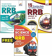 Indian Railways (RRB) Group D Exam 2018: Guide + 15 Practice Sets + Free General Science Book (Included in Combo)