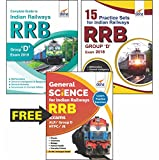 #6: Indian Railways (RRB) Group D Exam 2018: Guide + 15 Practice Sets + Free General Science Book (Included in Combo)